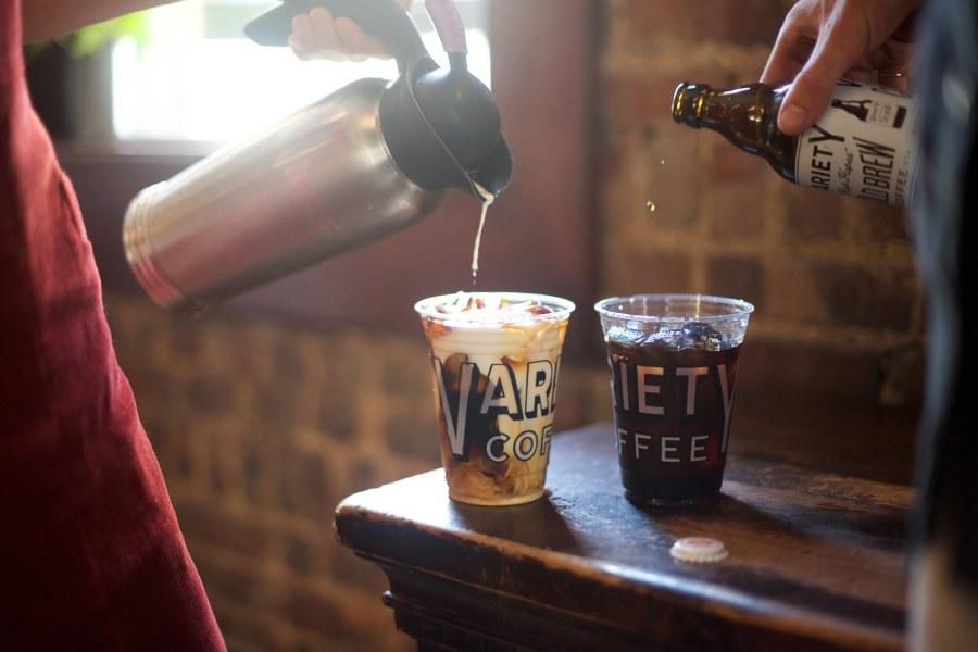 variety coffee, interior, coffee