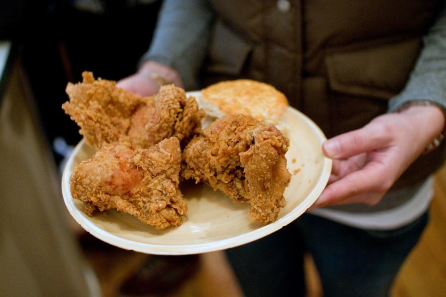pies 'n' thighs, chicken