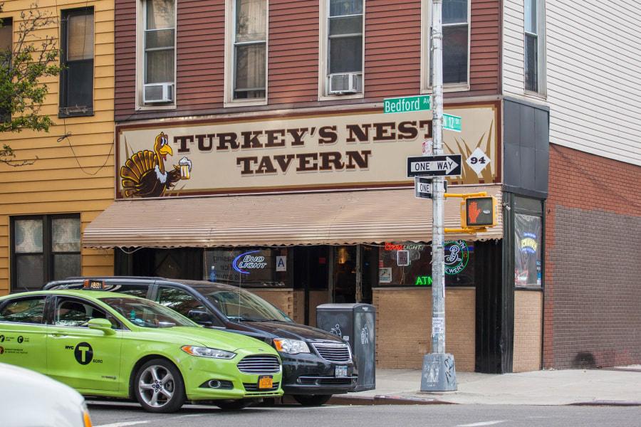 turkey's nest, exterior