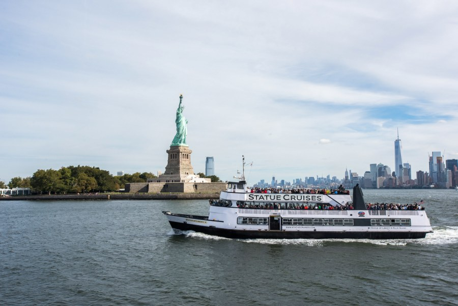 Statue of Liberty and Statue Cruises