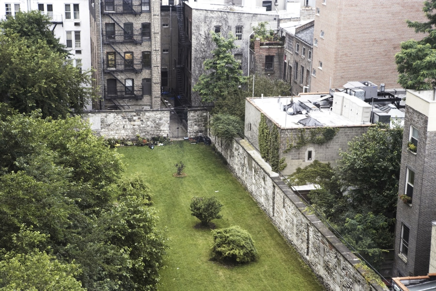 Cemetery Behind the Bowery Hotel