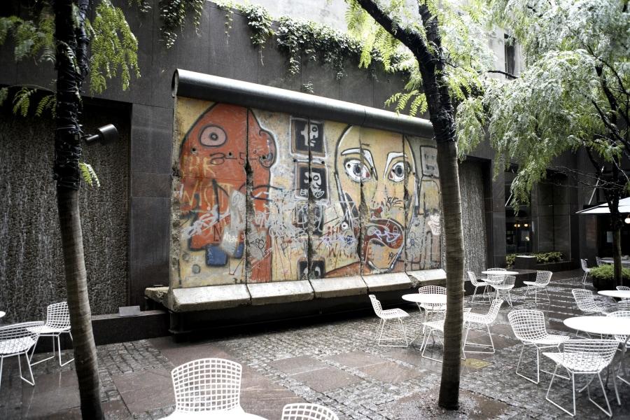 Berlin Wall Remnants in Midtown Manhattan