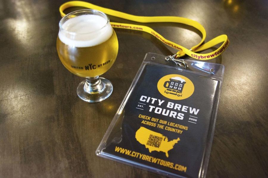 City brew, beer