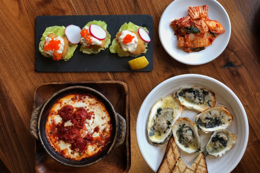 haenyeo, food, oysters