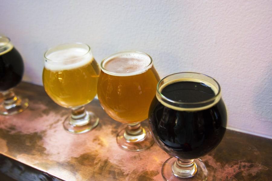big alice, beer flight