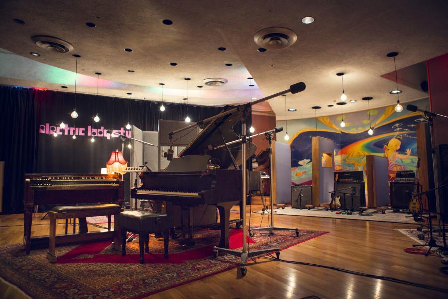 Electric lady studios, interior
