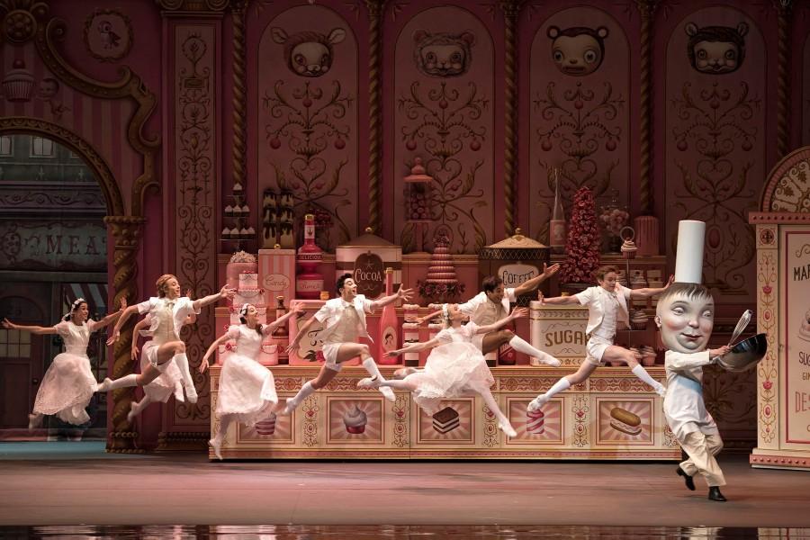 Whipped Cream, ballet,