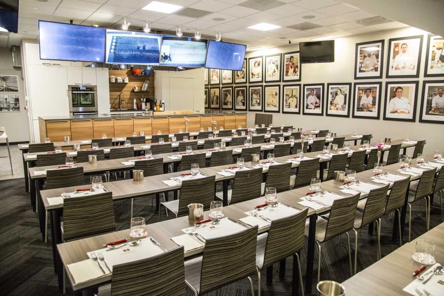 Macy's Herald Square, degustibus cooking school, classroom