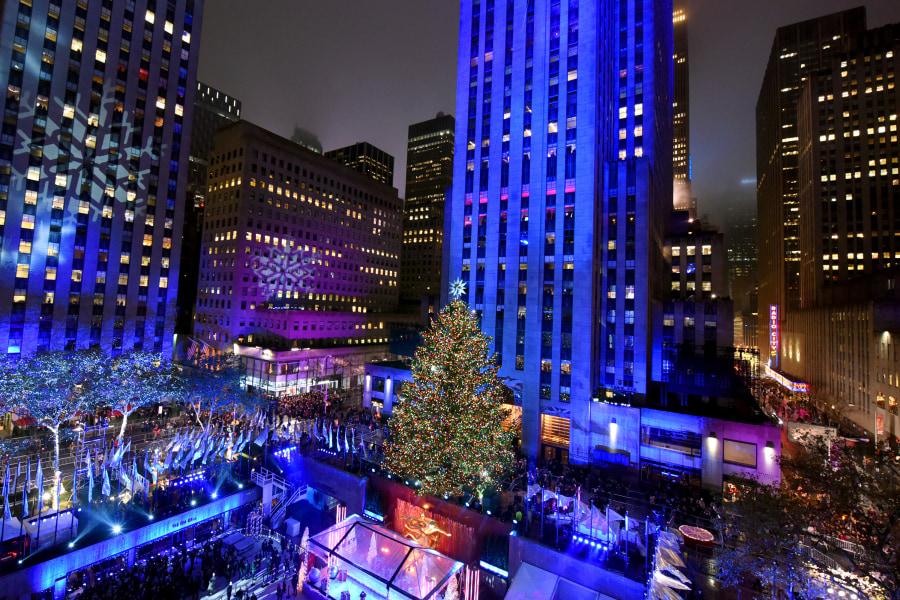 Rockefeller Christmas Tree NYC