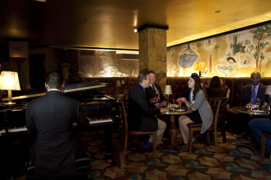 Bemelmans Bar at the Carlyle.