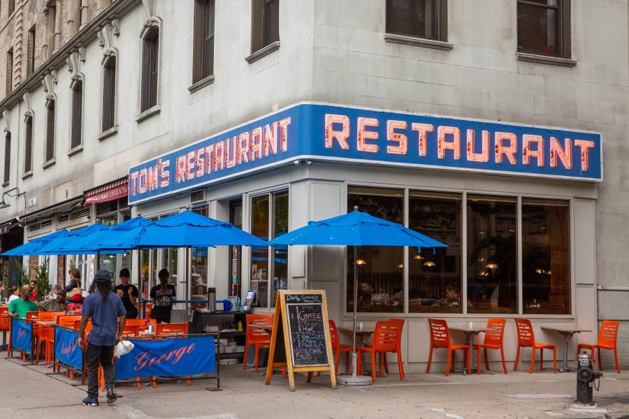 Tom's Restaurant, exterior