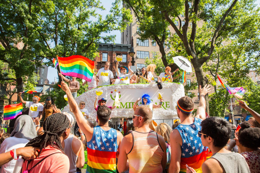 Pride Parade, Float