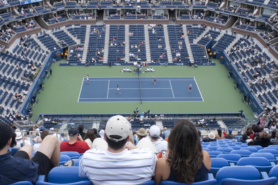 US Open court