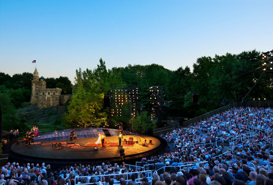 Delacorte Theater in Central Park hosts summer series of Shakespeare in the Park