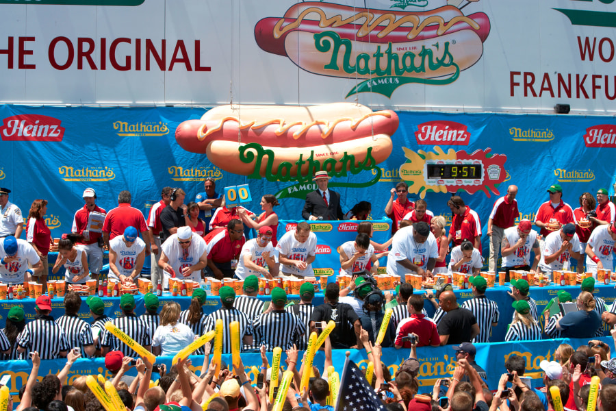 Nathan's Famous Fourth of July Hot Dog Eating Contest