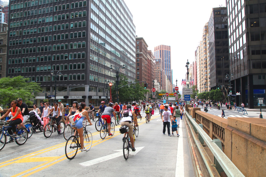 Summer Streets in NYC