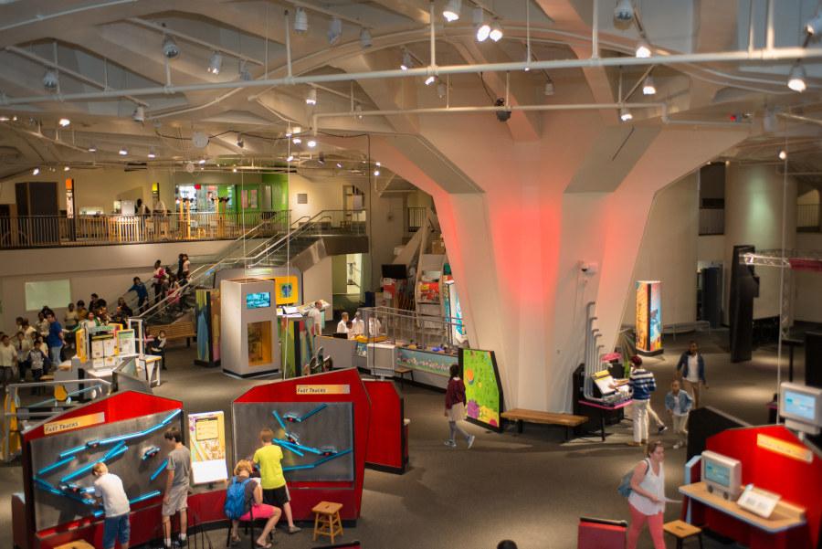 New York Hall of Science interior