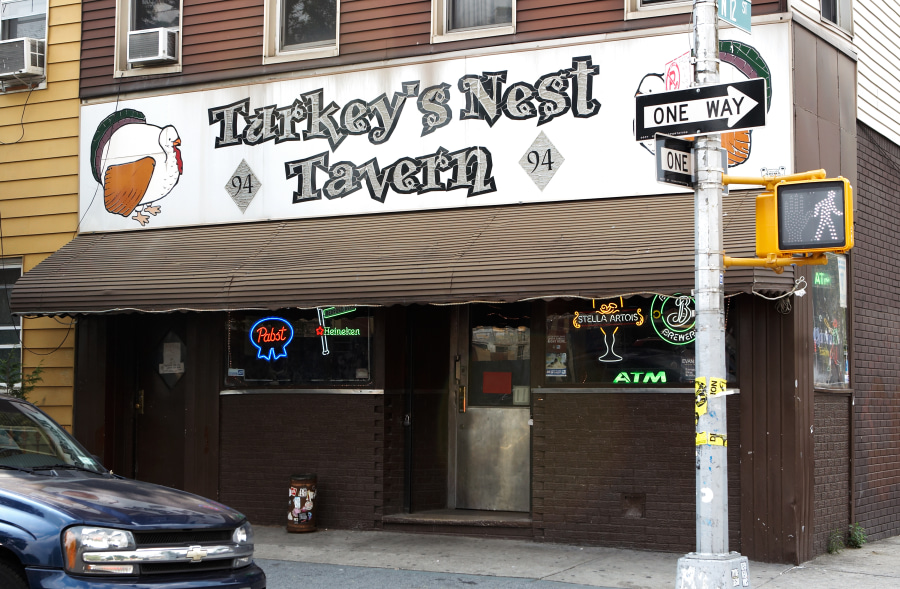 This old dive bar, the Turkey's Nest Tavern off of McCarren Park in Williamsburg Brooklyn is a hot spot for locals and hipsters