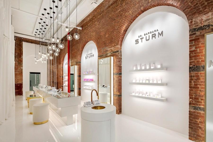 dr. barbara strum boutique and spa, interior
