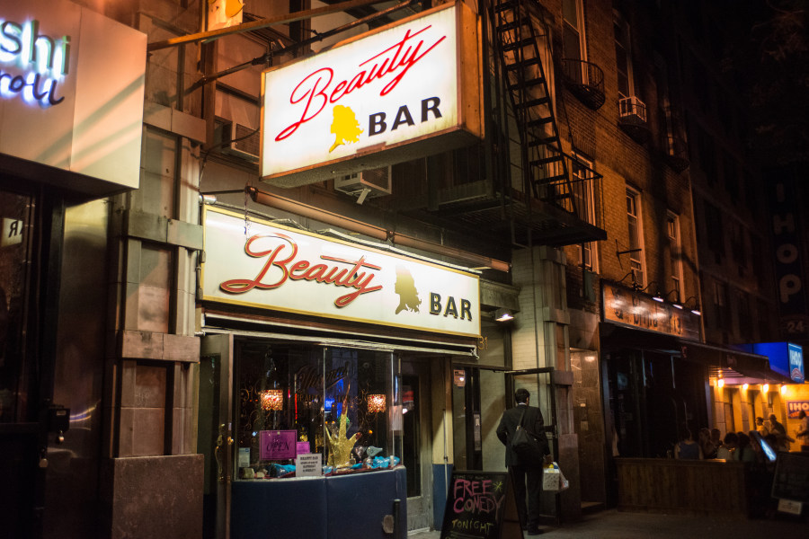 Beauty Bar Exterior