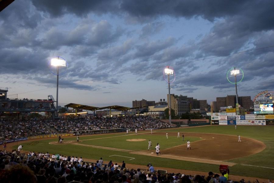 Brooklyn Cyclones, Brooklyn Cyclones Baseball Game, NYC Baseball, Baseball Game Summer Night