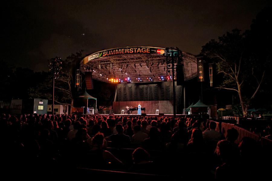 Metropolitan Opera, Summerstae, Summer Recital, Outdoor recital