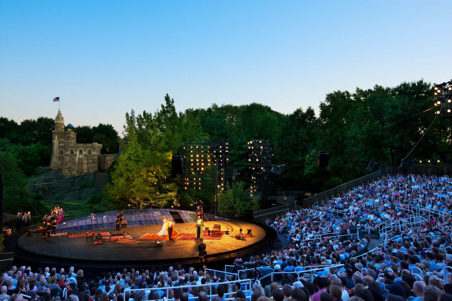 Shakespeare in the Park, Shakespeare in Central Park, Central Park Summer Events, Shakespeare on Stage, Summer Events
