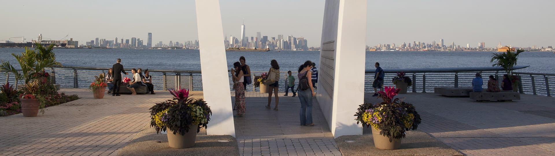 Staten Island September 11 Memorial, Staten Island, St George,