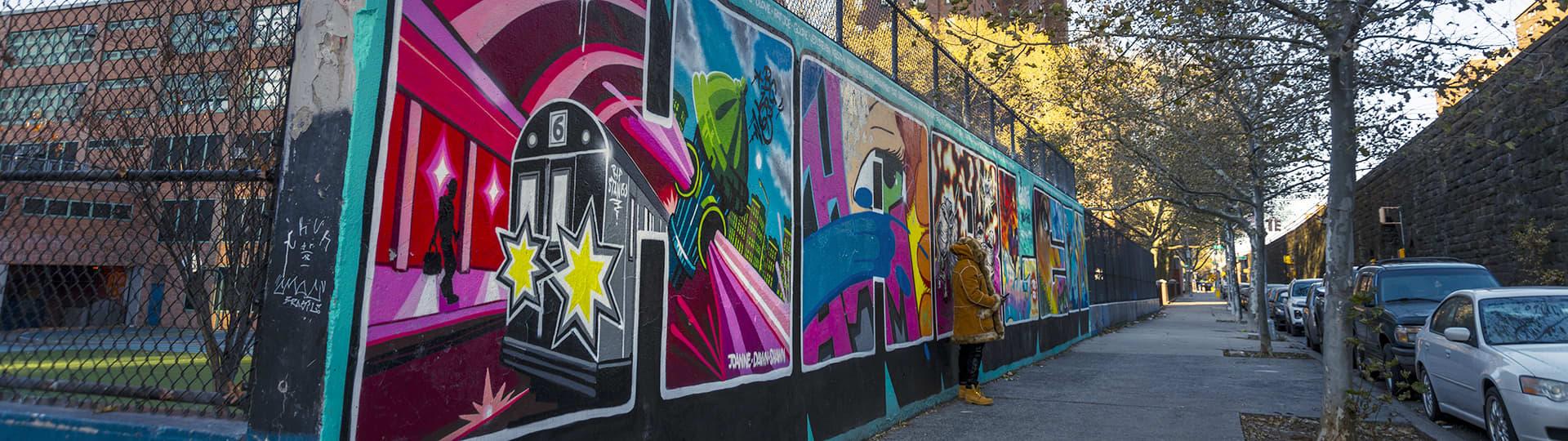 East Harlem, Graffiti Hall of Fame